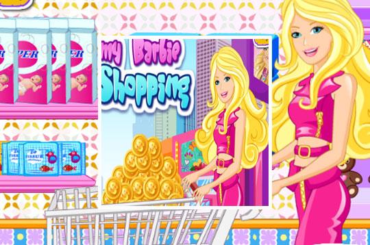 Mommy Barbie Go Shopping