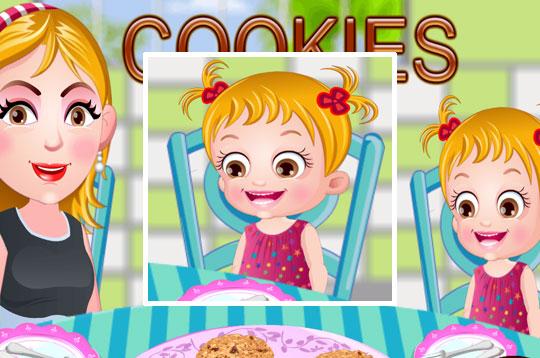 Oatmeal Cookies - Hazel & Mom's Recipes