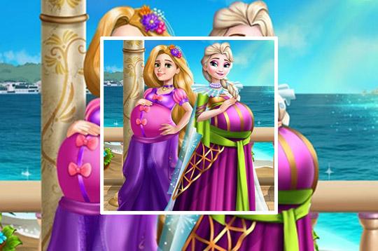 Palace Princesses Pregnant Bffs