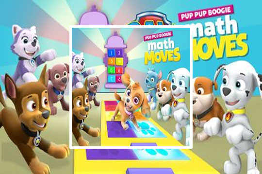 Paw Patrol: Pup Pup Boogie Math Moves
