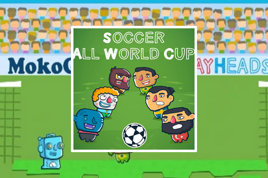 Playheads: Soccer All World Cup
