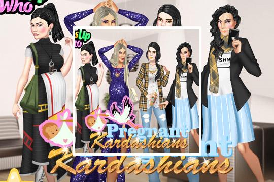Pregnant Kardashians Dress Up Game