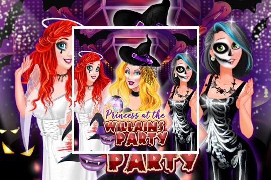 Princess At The Villains Party