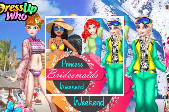 Princess Bridesmaids Weekend