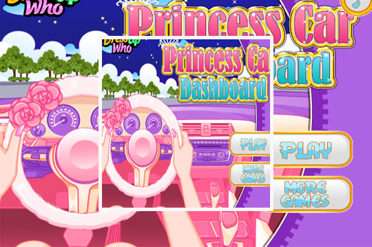 Princess Car Dashboard