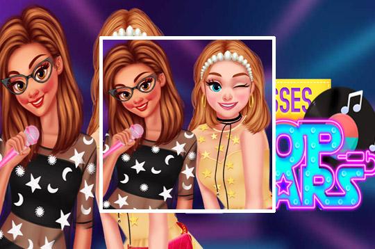 Princesses Become Pop Stars