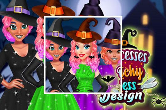 Princesses Witchy Dress Design