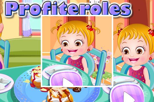 Profiteroles - Hazel & Mom's Recipes