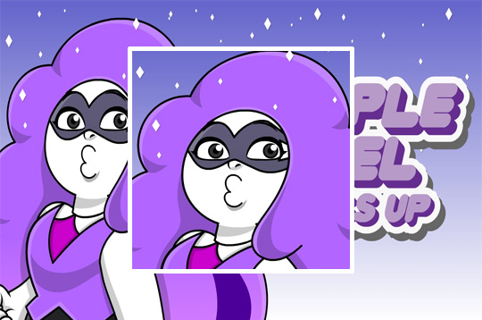 Purple Jewel Dress Up Game