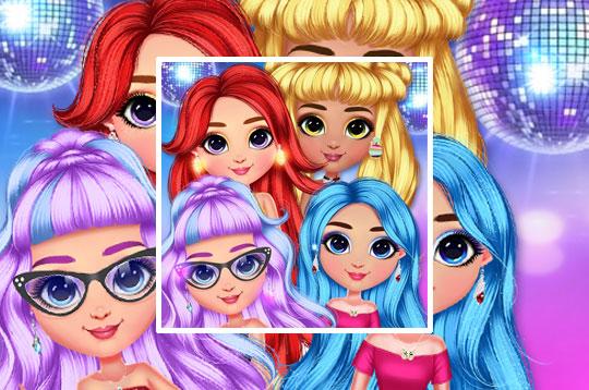 Rainbow Girls NYE Fashion