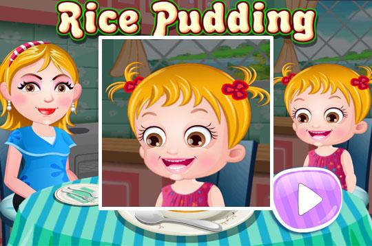 Rice Pudding - Hazel & Mom's Recipe