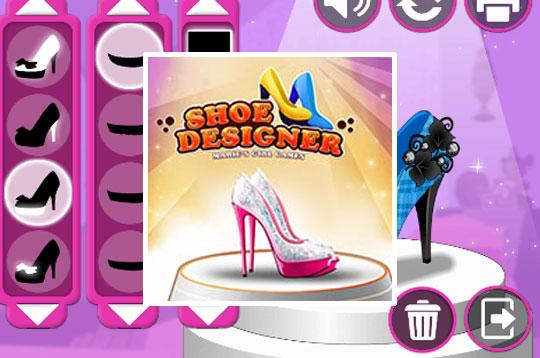 Shoe Designer - Marie's Girl Games
