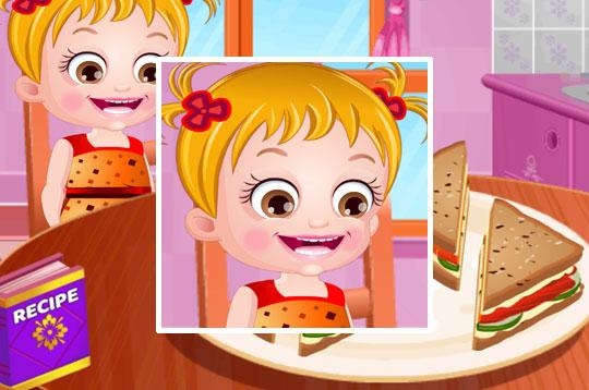 Smoked Salmon Sandwiches - Baby Hazel