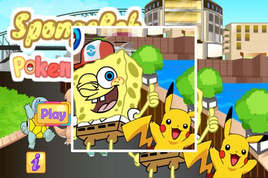 Spongebob Pokémon Go!