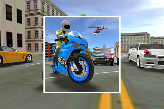 Sports Bike Simulator Drift 3D