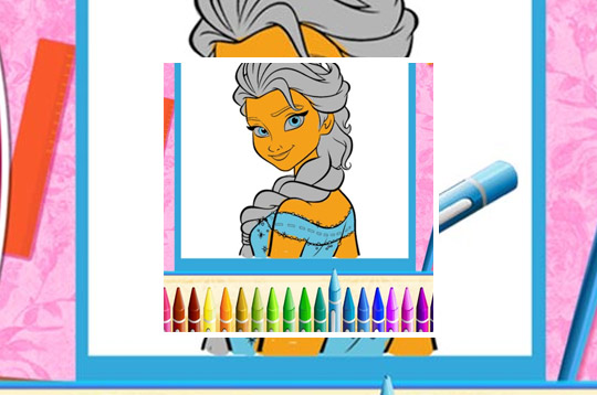 The Princess Sisters Coloring