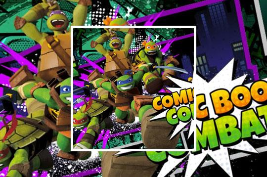 TMNT Comic Book Combat