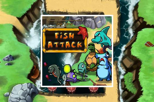 Tower Defense: Fish Attack