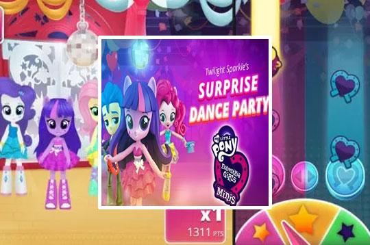 Twilight Sparkle Surprise Dance Party