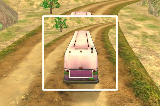 Uphill Passenger Bus Driver Simulator: Offroad Bus