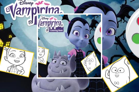 Vampirina Coloring Book