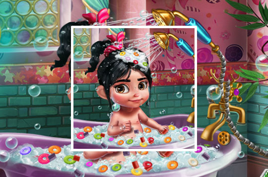 Vanellope Baby Shower Care