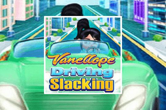 Vanellope Driving Slacking