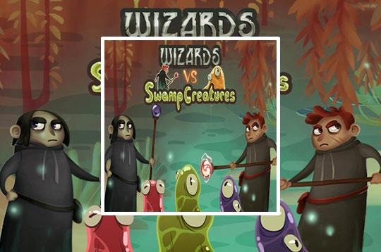 Wizards Vs Swamp Creatures