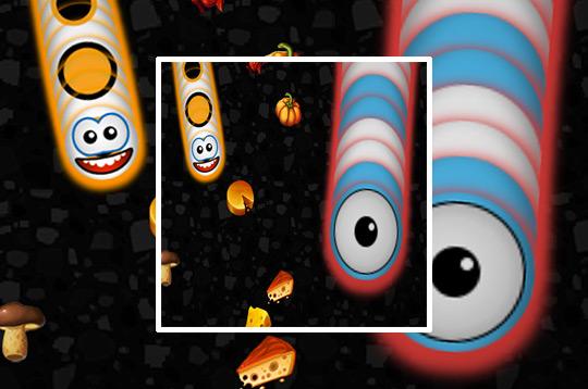 Worms Zone a Slithery Snake