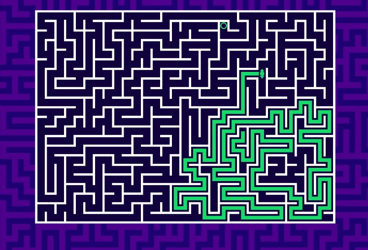 Maze o desafiante Jogo de Labirinto